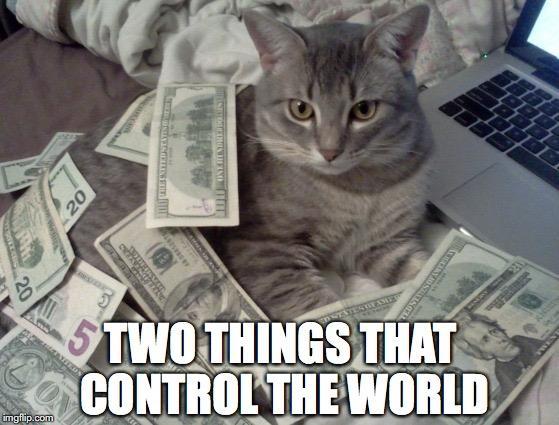 Deux choses qui contrôlent le monde (merci Internet!)