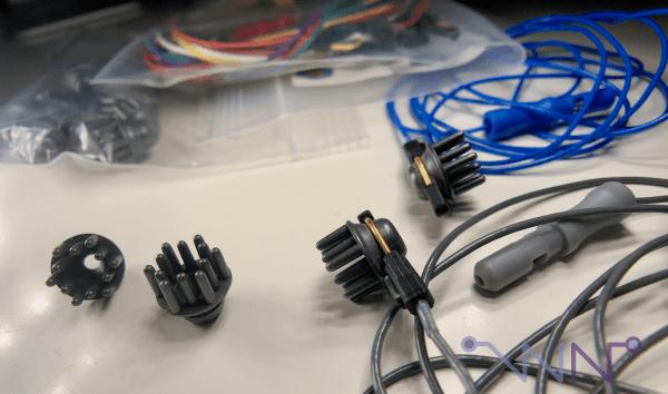 Exemple d'électrodes sèches