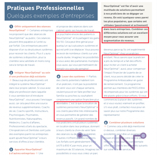 Brochure NeurOptimal